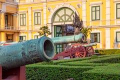 兴建曼谷和博物馆的国防部 免版税库存图片
