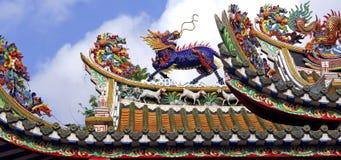 曼谷唐人街寺庙泰国 库存照片
