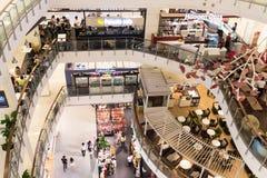 曼谷商城 免版税图库摄影