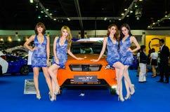 曼谷国际汽车展示会2015年 免版税库存照片
