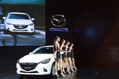 曼谷国际汽车展示会2015年 库存照片