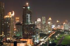 曼谷地平线 免版税图库摄影