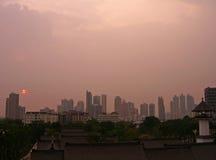 曼谷地平线 库存图片