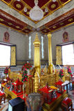曼谷城市柱子寺庙  库存照片