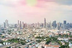 曼谷城市scape  免版税库存照片