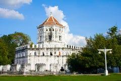曼谷堡垒phra sumen泰国 库存图片