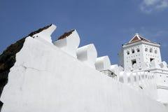 曼谷堡垒phra sumen泰国 库存照片