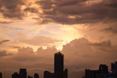 曼谷夜间 库存图片
