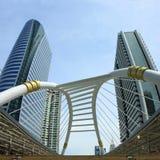 曼谷大厦城市 免版税库存照片