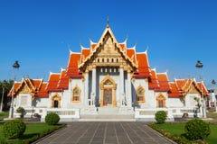 曼谷大理石寺庙 免版税库存图片