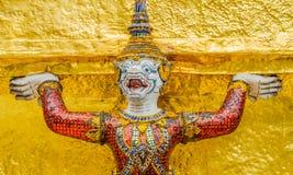 曼谷守护程序全部监护人kaew宫殿phra wat 免版税库存照片
