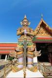 曼谷守护程序全部监护人kaew宫殿phra wat 库存图片