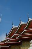 曼谷屋顶寺庙 免版税库存照片