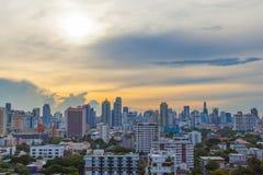 曼谷市。 库存照片
