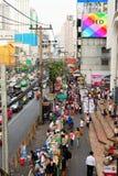 曼谷市中心 库存图片