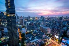 曼谷市全部kaew晚上宫殿phra皇家泰国wat 免版税库存照片