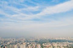 曼谷市地平线 免版税库存图片