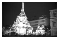 曼谷市柱子寺庙 库存图片