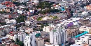曼谷市纪念碑泰国胜利 库存照片