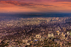 曼谷市视图 库存图片