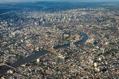 曼谷市视图 库存照片