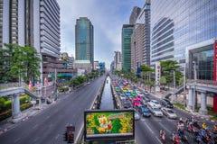 曼谷市,泰国 免版税图库摄影