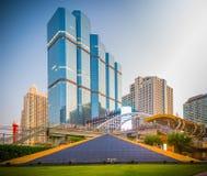 曼谷市-商业区 免版税库存照片