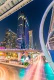 曼谷市-商业区 免版税图库摄影