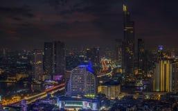 曼谷市 库存照片