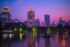 曼谷市 免版税库存照片