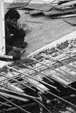 曼谷建筑工人 免版税图库摄影