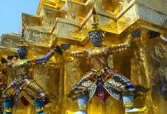 曼谷恶魔全部监护人宫殿 免版税图库摄影