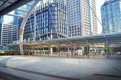 曼谷摩天大楼大厦,泰国 免版税图库摄影
