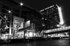 曼谷晚上 免版税库存照片