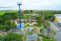 曼谷梦想公园世界 库存图片