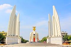 曼谷民主纪念碑泰国 免版税图库摄影