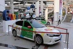 曼谷汽车Google Maps 库存图片