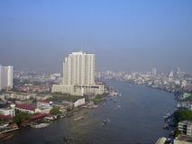 曼谷河 库存图片