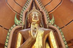曼谷泰国老虎寺庙 免版税库存照片