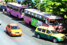 曼谷泰国:计程表/小室在曼谷 您的选择 库存图片