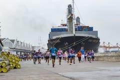 曼谷泰国- 5月29日:的体育和跑健康的人民  免版税库存图片