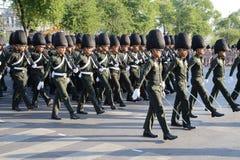 曼谷泰国11月27The皇家卫兵皇家泰国武装 免版税图库摄影