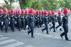 曼谷泰国11月27The皇家卫兵皇家泰国武装 图库摄影