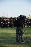 曼谷泰国11月27The皇家卫兵皇家泰国武装 库存图片