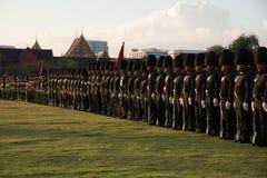曼谷泰国11月27The皇家卫兵皇家泰国武装 免版税库存图片