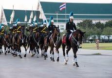 曼谷泰国11月27The皇家卫兵皇家泰国武装 免版税库存照片