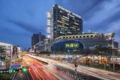 曼谷泰国-第17, 2016年:群侨商业中心,一已知的百货商店在曼谷 库存图片