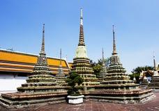 曼谷泰国 Stupa 免版税库存照片