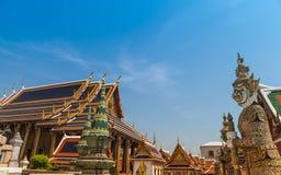曼谷玉佛寺。 库存照片