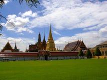 曼谷玉佛寺在曼谷 免版税库存图片